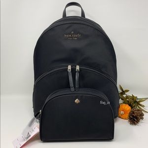 Kate Spade Karissa Nylon Large Backpack Set